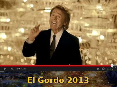 El Gordo 2013 Advert