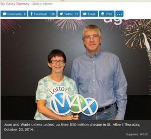 Lotto Max Winners